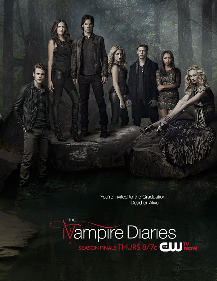 The Vampire Diaries / Дневники вампира 5 сезон (HD-720 качество) все серии подряд перевод Лостфилм и Кубик в кубе (2013)