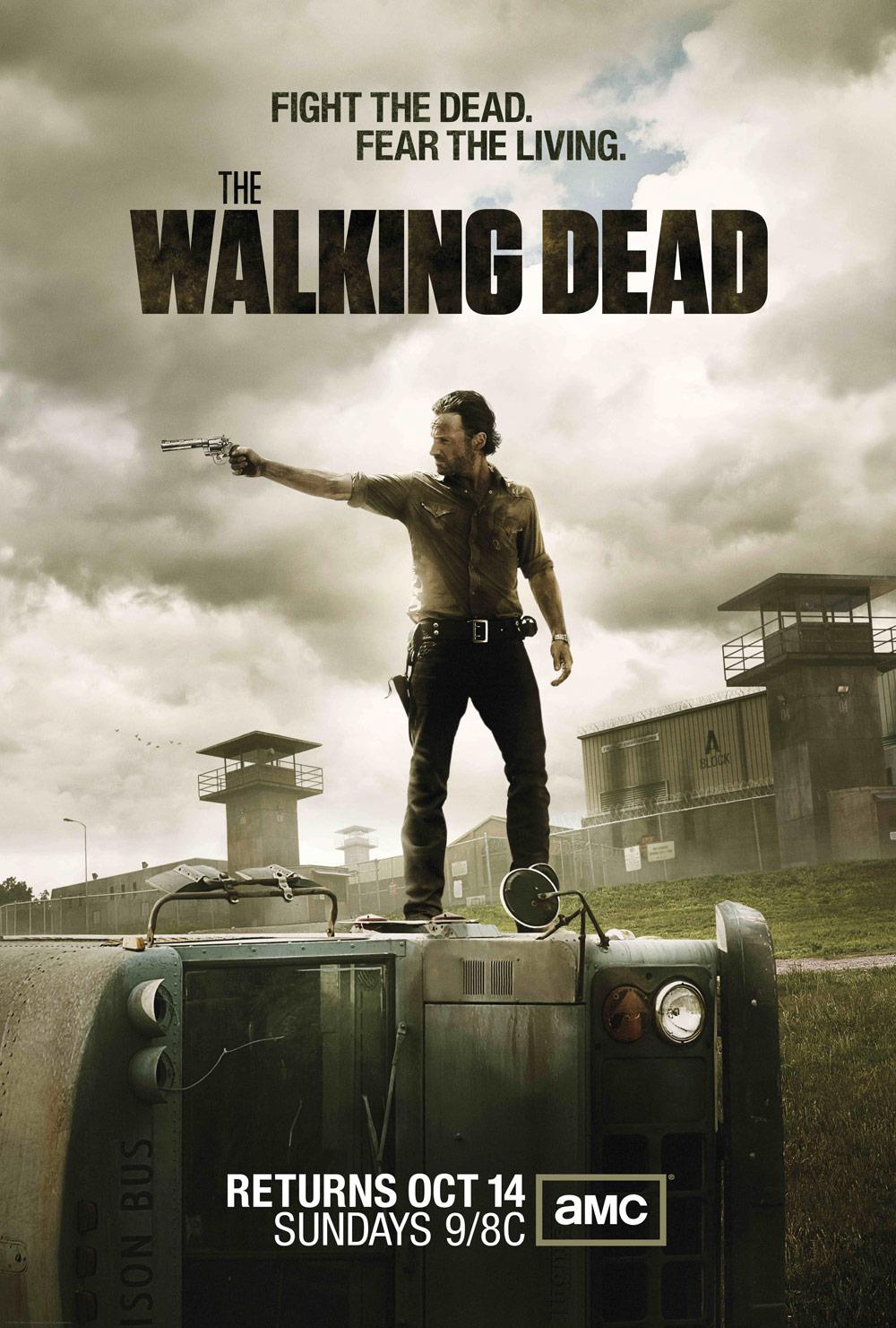 The Walking Dead / Ходячие мертвецы 3 сезон (HD-720p) все серии подряд перевод Кубик в кубе и FoxCrime (2012)