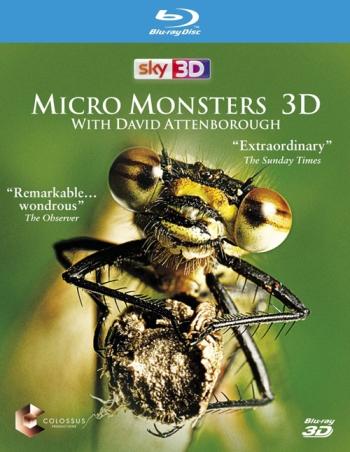Микромонстры 3D с Дэвидом Аттенборо (HD-720 качество) все выпуски / Micro Monsters 3D (2013)
