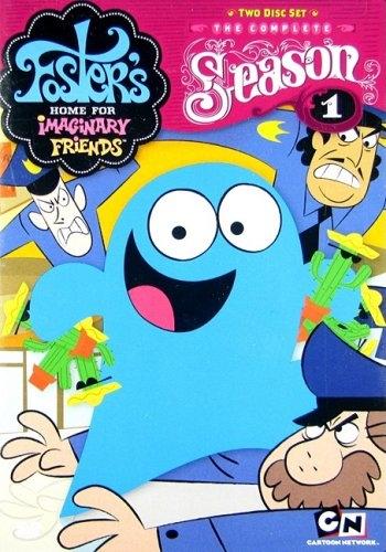 Дом друзей Фостера (HD-720 качество) все серии подряд / Foster's Home for Imaginary Friends (2004)