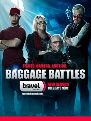 Багажные войны 1,2,3,4 Сезон (HD-720 качество) все выпуски подряд / Baggage Battles