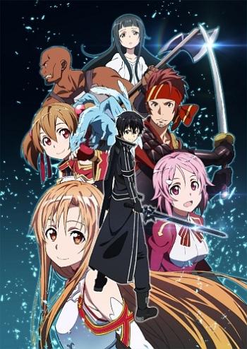 Мастера меча онлайн 1 Сезон (HD-720 качество) все серии подряд / Sword Art Online (2012)