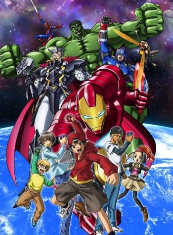 Мстители: Дисковые войны (HD-720 качество) все серии подряд / Marvel Disk Wars: The Avengers (2014)