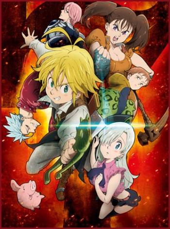 Семь смертных грехов (HD-720 качество) все серии подряд / Nanatsu no Taizai (2014)