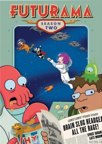Футурама 2 Сезон (HD-720 качество) все серии подряд / Futurama (2000)