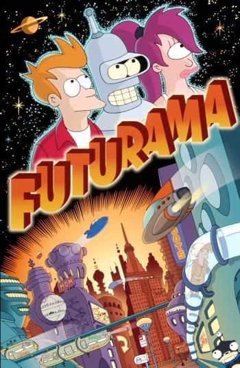 Футурама 1 Сезон (HD-720 качество) все серии подряд / Futurama (1999)
